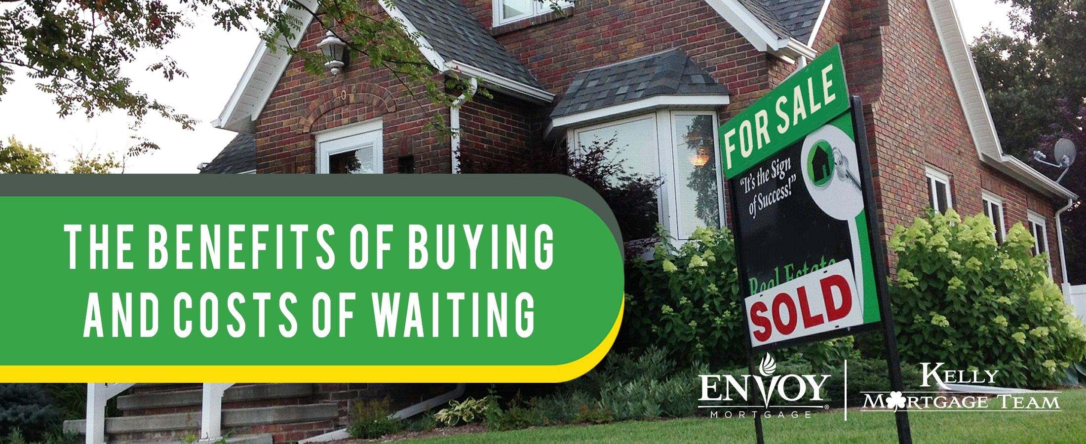 The Benefits of Buying and Costs of Waiting